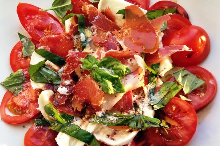 Salade caprese met een culy twist