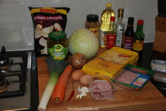 Bami goreng met alles erop en eraan! recept