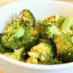 Geroosterde broccoli met knoflook en citroen recept