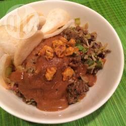 Eenvoudige nasi recept