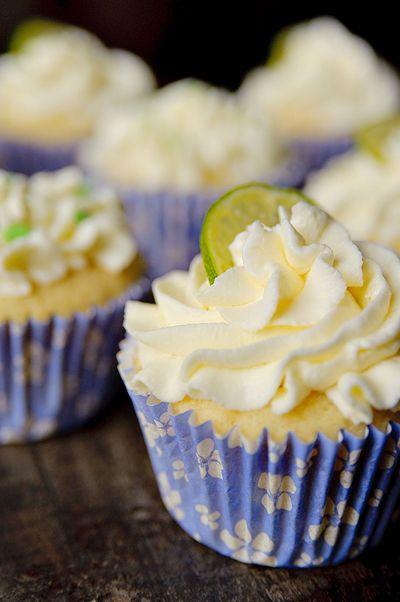 Recept 'cupcakes met limoen & ricotta'