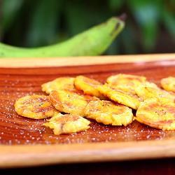 Bananenchips (tostones) recept