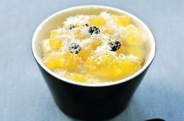 Tiramisu met appel, gemarineerd in limoncello recept