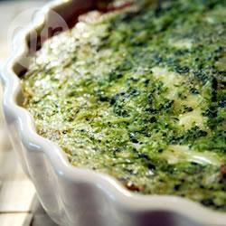 Broccoli quiche recept