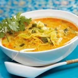 Thaise noedelsoep recept