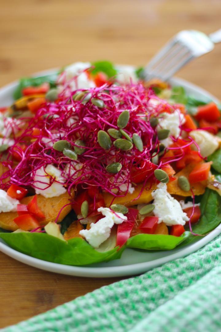 Recept 'zoete aardappelsalade'