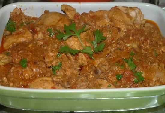 Indiase kip kerrie recept