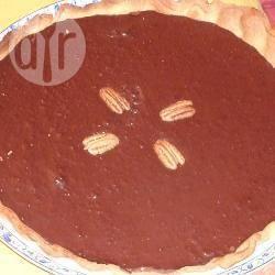 Chocoladetaart met pecannoten recept