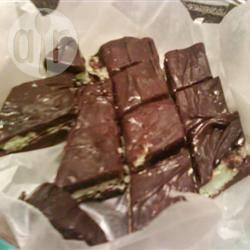 Pepermunt-chocoladefudge recept