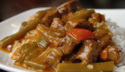 Hongaarse goulash uit de crockpot recept