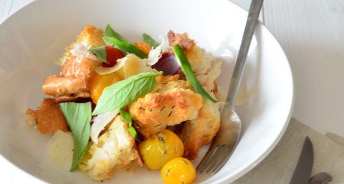 Italiaanse broodsalade | panzanella