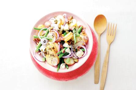 Aardappelsalade op z'n italiaans