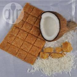 Kokos chikki (indiaas snoepgoed) recept