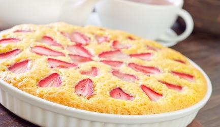 Friszoete aardbeientaart recept