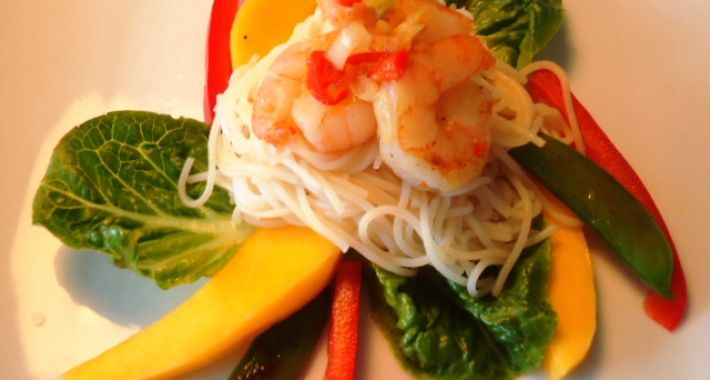 Thaise noodlesalade