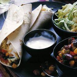 Mexicaanse burrito's met bonen recept