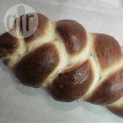 Challah uit de broodmachine recept