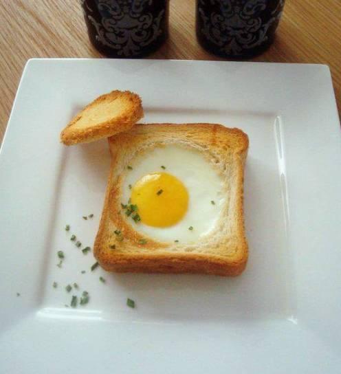 hoe bak je een ei