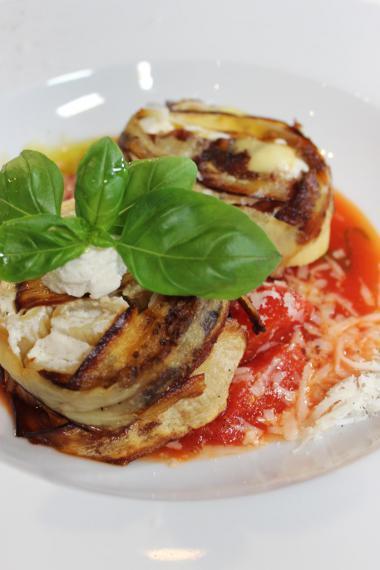 Recept 'rigatoni met aubergine en ricotta'