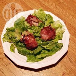 Peren met blauwe kaas en bacon recept