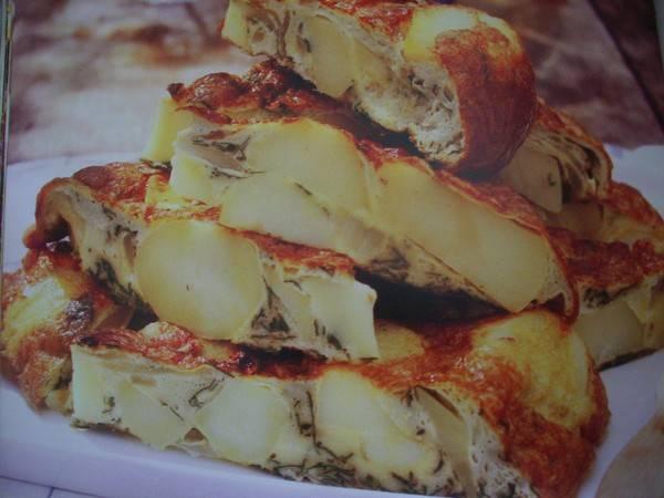 Frittata met aardappel recept