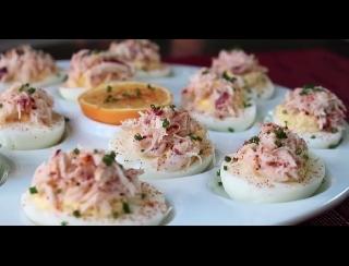 Duivels eitje (gevulde eieren) recept