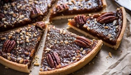 Old-fashioned pecan pie recept