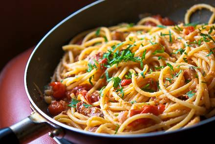 Spaghetti all`amatriciana recept