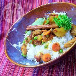 Indiase kip curry recept