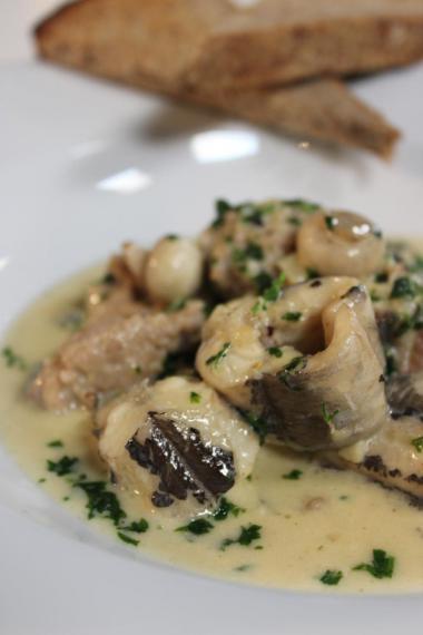 Recept 'poulette van paling'