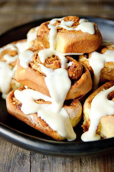 Recept 'kaneel broodjes'
