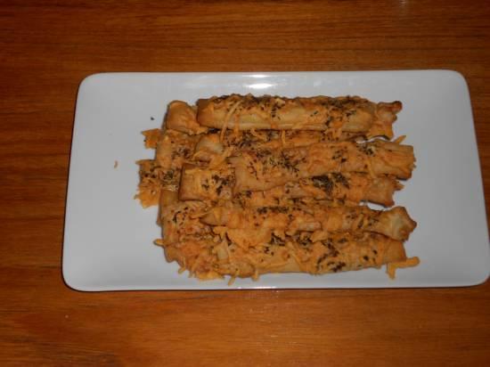 Krokant gebakken verse italiaanse kaasstengels recept