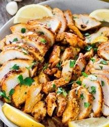 Geroosterde kipshoarma uit de oven recept