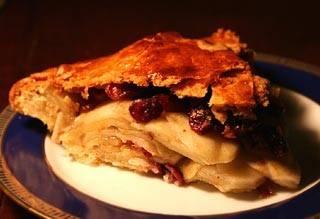Canada apple cranberry pie recept