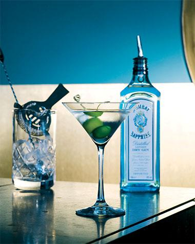Recept 'dry martini'