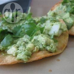 Avocado tortilla recept
