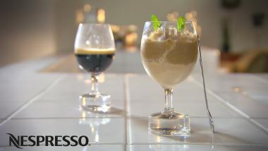 Recept 'café glacé met koffiesaus'