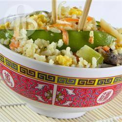 Vegetarische nasi goreng recept