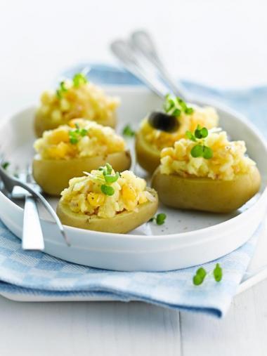 Recept 'polderaardappel met damse mokke'