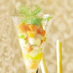 Amuse: gekleurde minigroenten recept