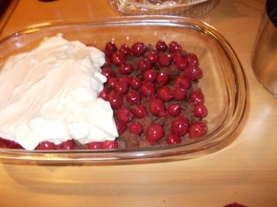Schwarzwalder kirsch trifle recept