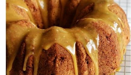 Caramel appelcake recept