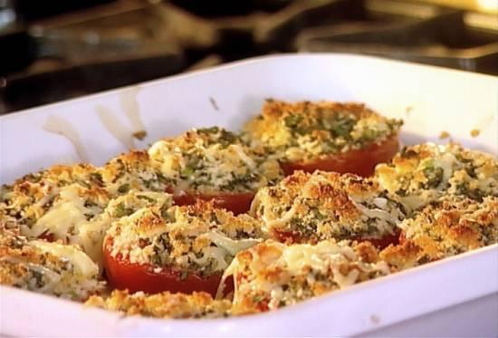Provencaalse tomaten uit de oven recept