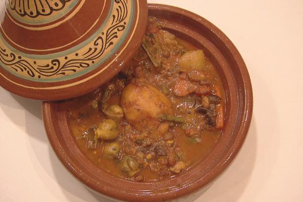 Marokkaanse tajine met lamsvlees
