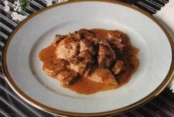 Kipfilet met champignons en parmezaanse kaas uit de oven ...