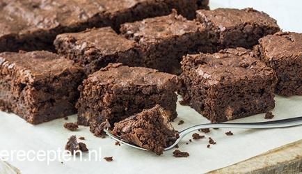 Tony chocolonely brownies met zeezout recept