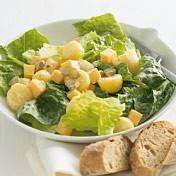 Salade met aardappeltjes en kaas recept