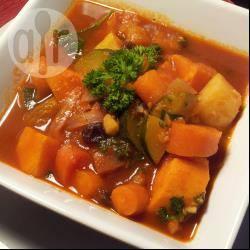 Vegetarische marokkaanse couscous recept