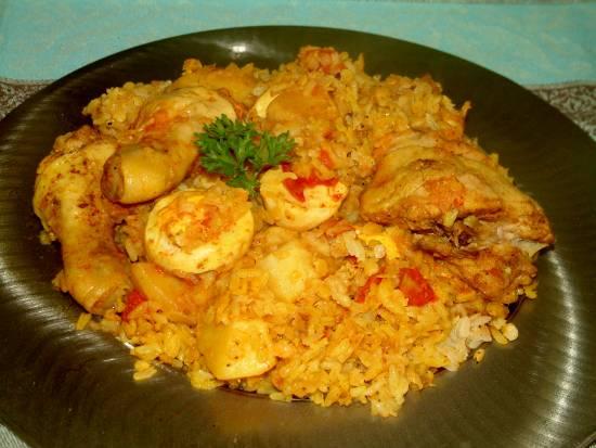 Biryani uit natal (zuid-afrika) recept