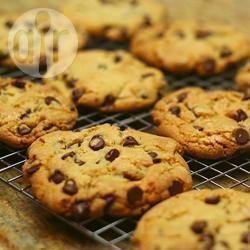 Grote chocolate chip koekjes recept